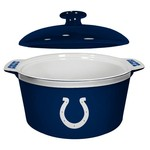Boelter Brands Indianapolis Colts Gametime 2.4 qt. Oven Bowl - view number 1