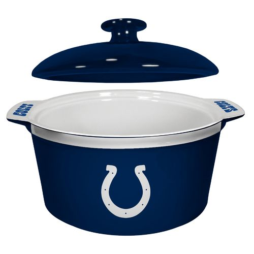 Boelter Brands Indianapolis Colts Gametime 2.4 qt. Oven Bowl