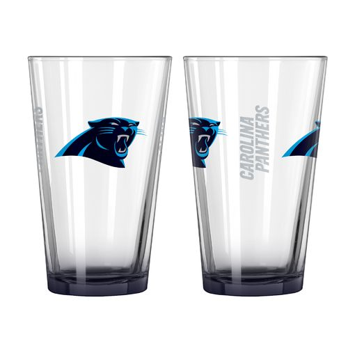 Boelter Brands Carolina Panthers Elite 16 oz. Pint Glasses 2-Pack