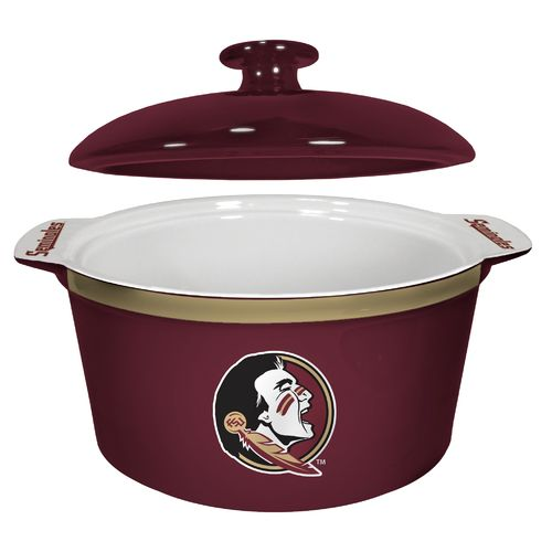 Boelter Brands Florida State University Gametime 2.4 qt. Oven Bowl