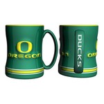Boelter Brands University of Oregon 14 oz. Relief Mugs 2-Pack - view number 1