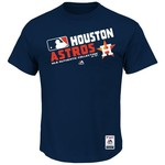 Majestic Men's Houston Astros On Field Team Choice T-shirt