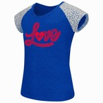Colosseum Athletics Girls' University of Kansas All About That Lace T-shirt