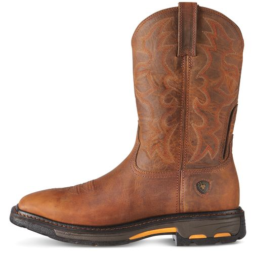 Ariat Men's Workhog Steel-Toe Western Work Boots