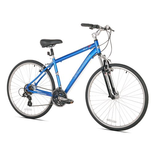 Giordano Men's G7 Medium 700c 21-Speed Hybrid Bicycle