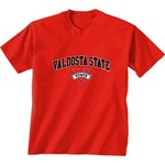 New World Graphics Men's Valdosta State University Arch Mascot T-shirt