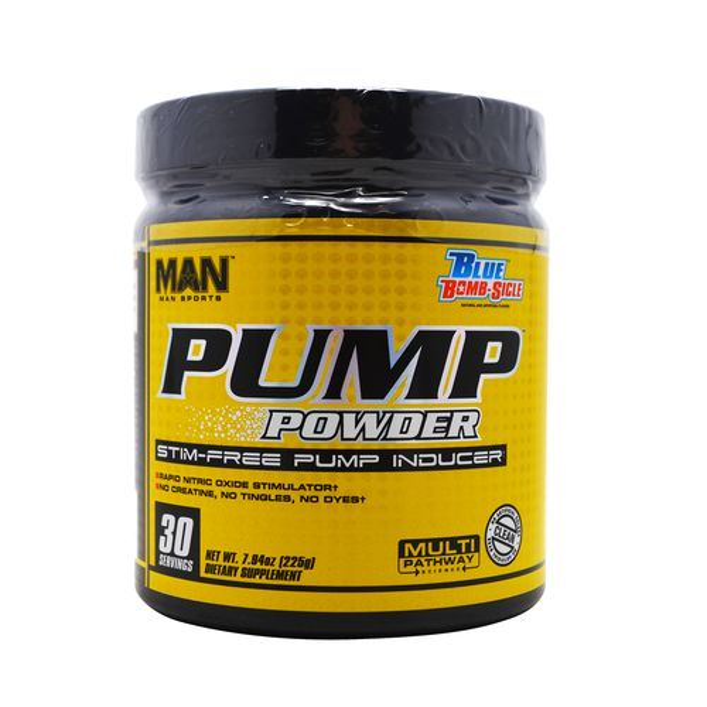 Display product reviews for MAN Sports Pump Powder