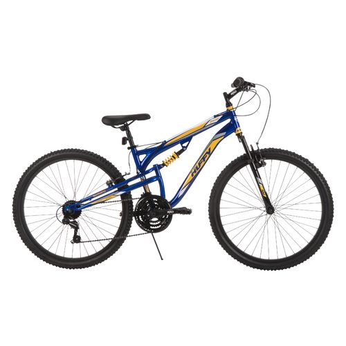"Huffy Men's Evader 26"" 21-Speed Dual-Suspension Mountain Bike"