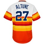 Majestic Men's Houston Astros José Altuve #27 Cooperstown Replica Jersey