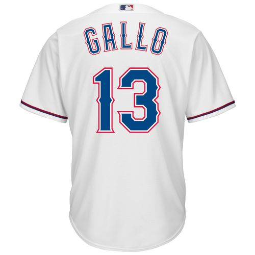 Majestic Men's Texas Rangers Joey Gallo #13 Cool Base Replica Jersey