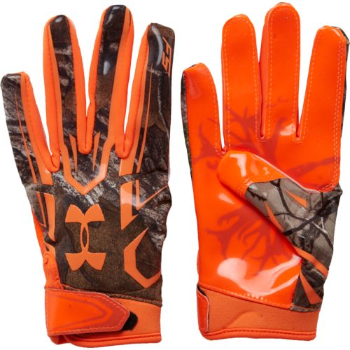 under armour football gloves. under armour boys\u0027 realtree f5 receiver gloves football o
