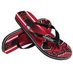 Forever Collectibles™ Adults' Arkansas State University Gradient Big Logo Flip-Flops