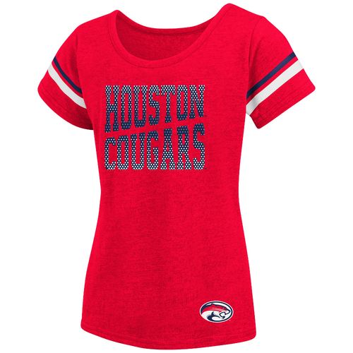 Colosseum Athletics™ Girls' University of Houston Fading Dot T-shirt
