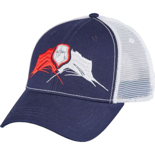 Guy Harvey Men's Face-Off Trucker Cap