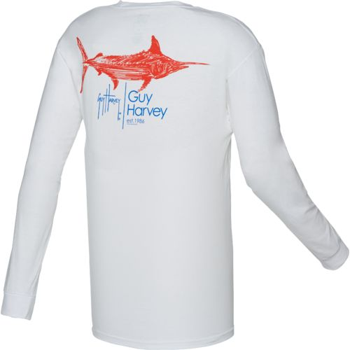 Guy Harvey Men's Sprint Long Sleeve T-shirt