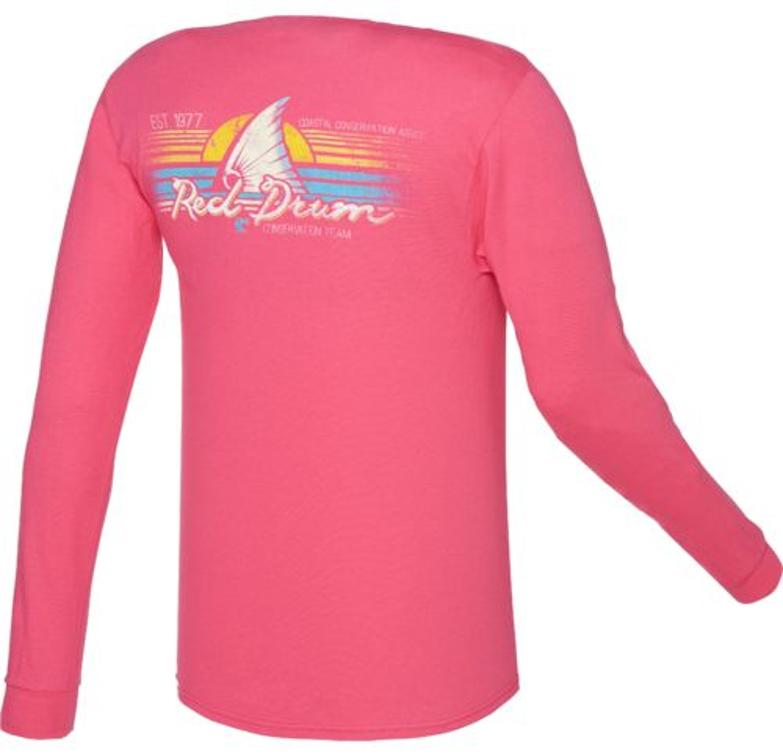 CCA™ Men's Redfish Sunset Long Sleeve T-shirt