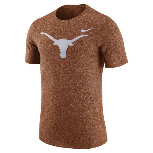 Nike Men's University of Texas Marled Logo T-shirt