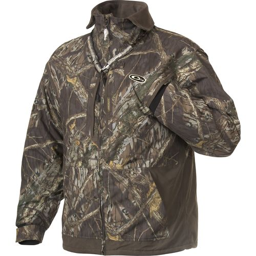 Drake Waterfowl Men's MST Fleece Lined Full Zip Jacket