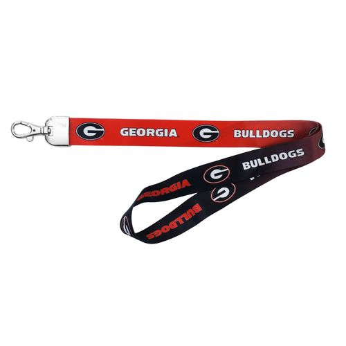NCAA University of Georgia Ombré Lanyard