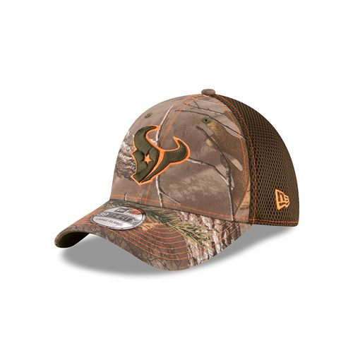 New Era Men's Houston Texans Realtree Neo 39THIRTY Cap