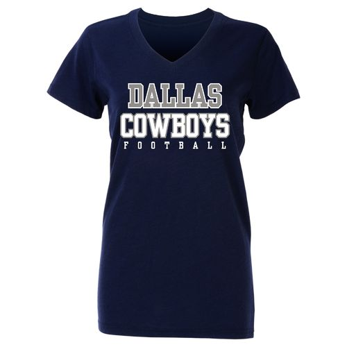 Dallas Cowboys Women's Practice Glitter T-shirt