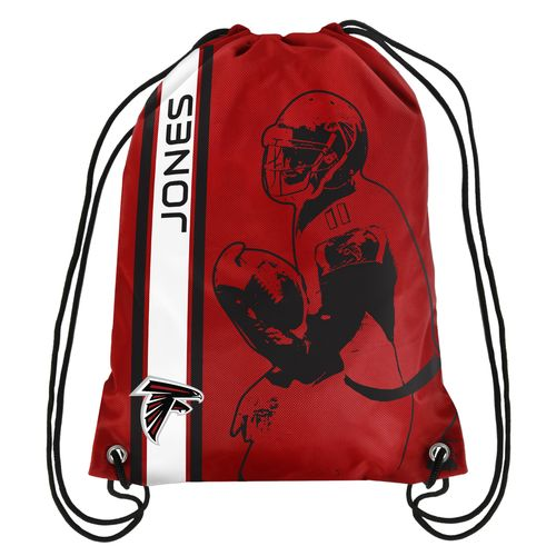 Team Beans Atlanta Falcons Julio Jones #11 Drawstring Backpack