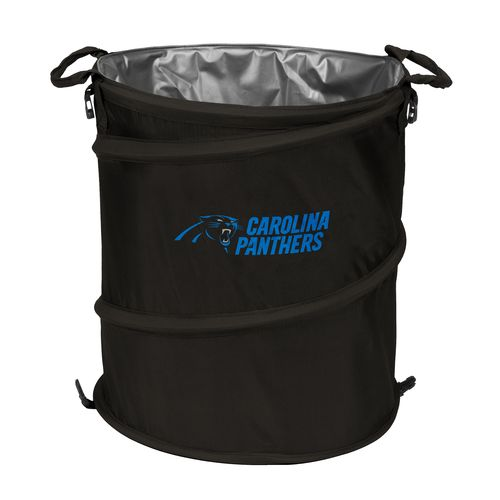 Logo™ Carolina Panthers Collapsible 3-in-1 Cooler/Hamper/Wastebasket
