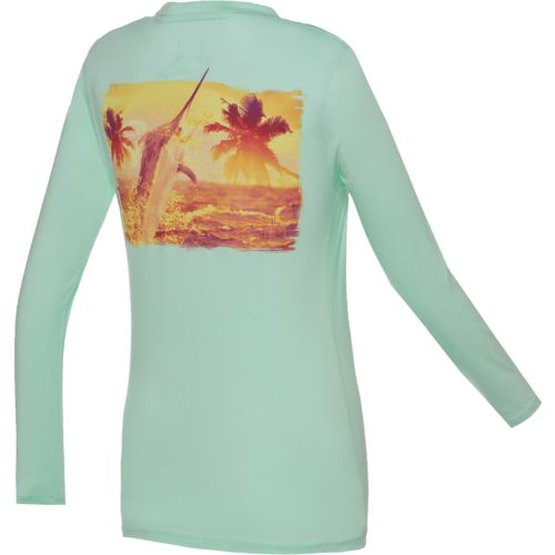 Guy Harvey Women's Air and Light Long Sleeve T-shirt