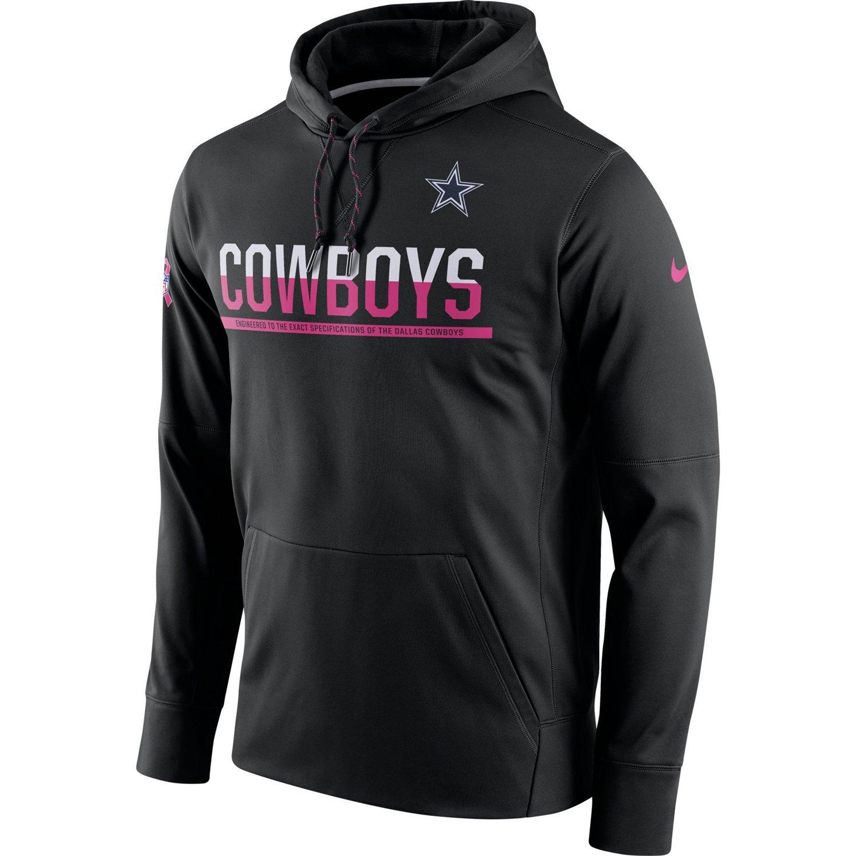 Nike Men's Dallas Cowboys BCA Circuit Fleece Pullover Hoodie