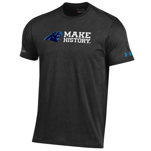 Under Armour™ NFL Combine Authentic Men's Carolina Panthers T-shirt