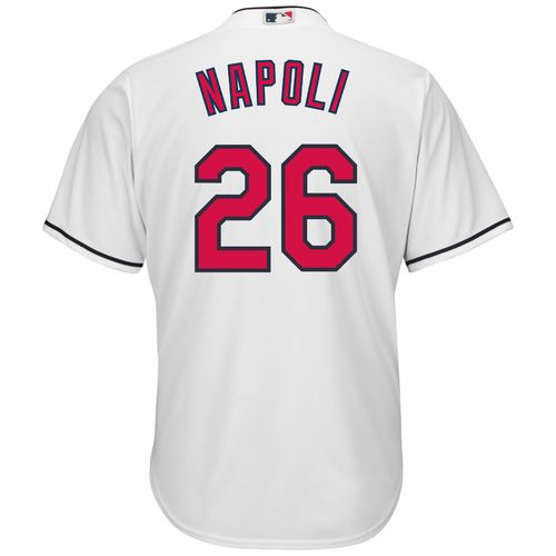 Majestic Men's Cleveland Indians Mike Napoli #26 Cool Base Replica Jersey