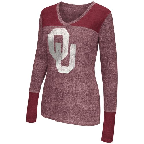Touch by Alyssa Milano Women's University of Oklahoma Goal Line Top