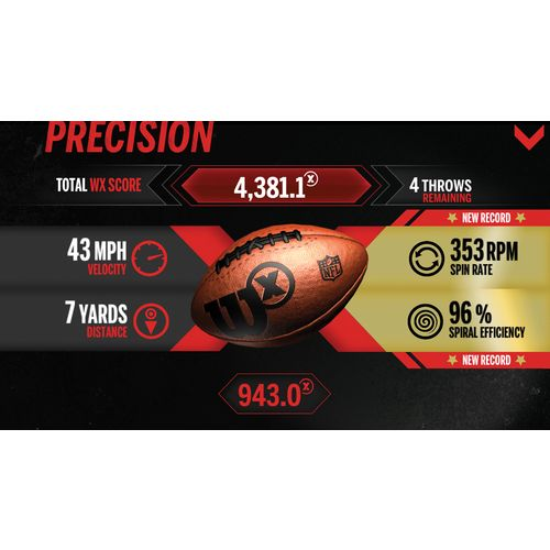 Wilson™ X Connected Football - view number 4