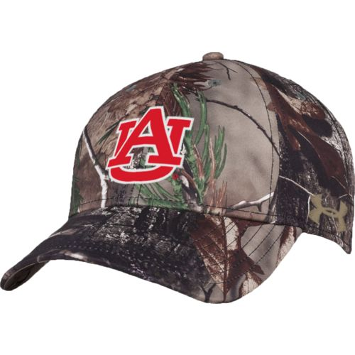 Under Armour™ Men's Auburn University Realtree Camo Flex Cap