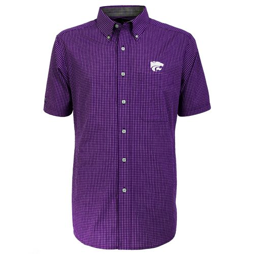 Antigua Men's Kansas State University League Short Sleeve Shirt - view number 1