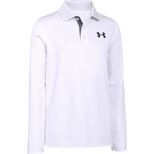 Under Armour Boys' Match Long Sleeve Polo Shirt - view number 1
