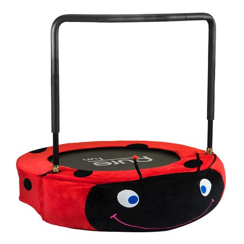 "Display product reviews for Pure Fun Kids' Ladybug Jumper 38"" Trampoline"