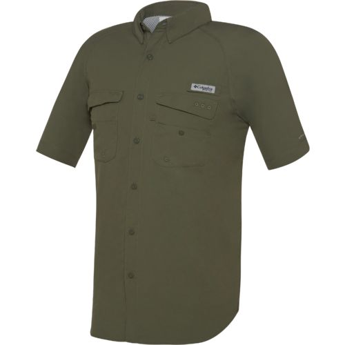 Columbia Sportswear Men's Baitcaster Short Sleeve Button Down Fishing Shirt