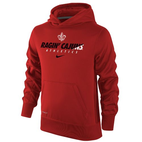 Nike Boys' University of Louisiana at Lafayette Therma-FIT KO Hoodie