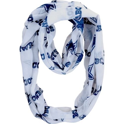 Display product reviews for Forever Collectibles™ Women's Dallas Cowboys Team Logo Infinity Scarf