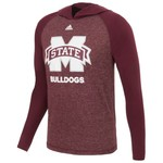 adidas™ Men's Mississippi State University Loyal Fan Hoodie