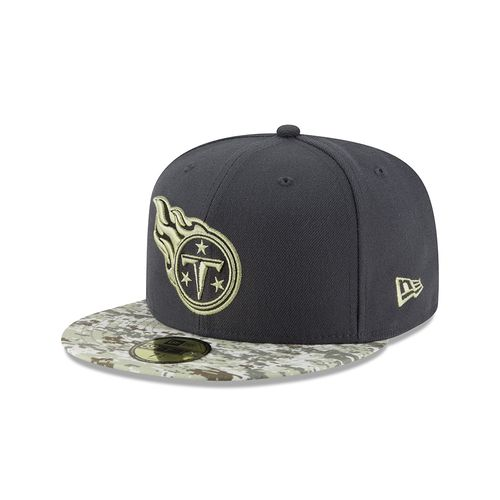 New Era Men's Tennessee Titans Salute to Service 59FIFTY Cap