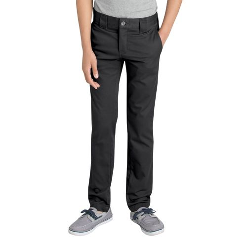 Dickies Boys' Flex Skinny Fit Straight Leg Uniform Pant - view number 1