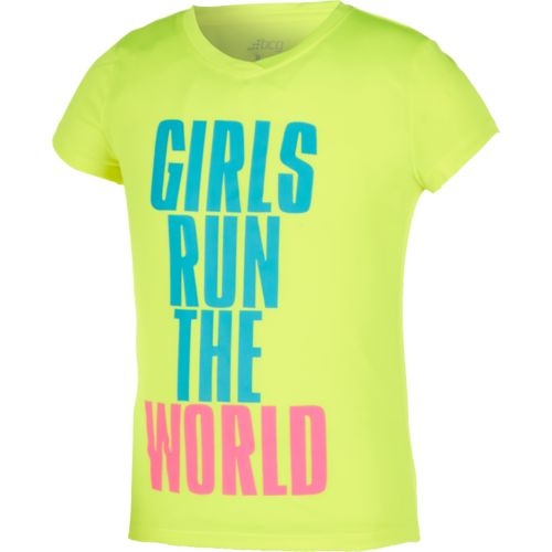 BCG™ Girls' Run the World T-shirt