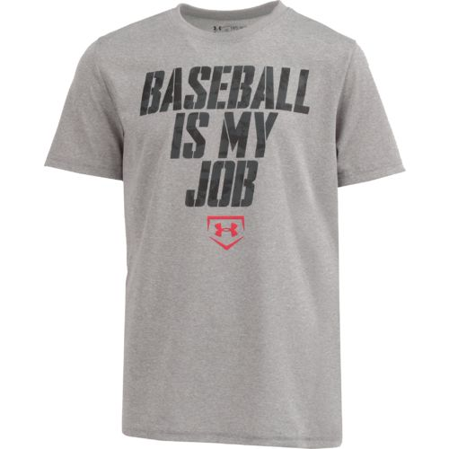 Under Armour™ Boys' Baseball is My Job T-shirt