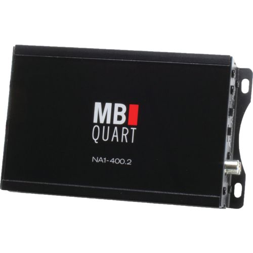 MB Quart NA1-320.4 Nautic Series Compact Powersports 4-Channel 80W Class D Amp