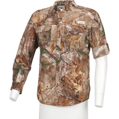 Magellan Outdoors Men's Laguna Madre Realtree Long Sleeve Shirt
