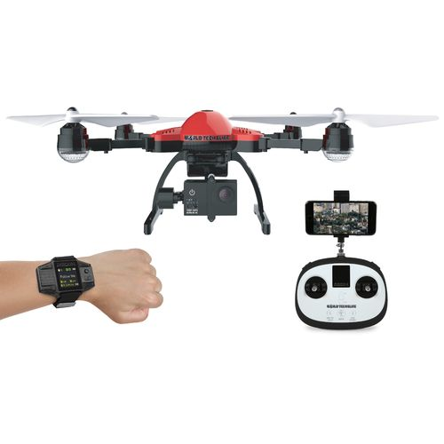 World Tech Toys Elite Recon Follow-Me Drone Smart Watch 4K Camera RC Quadcopter - view number 5