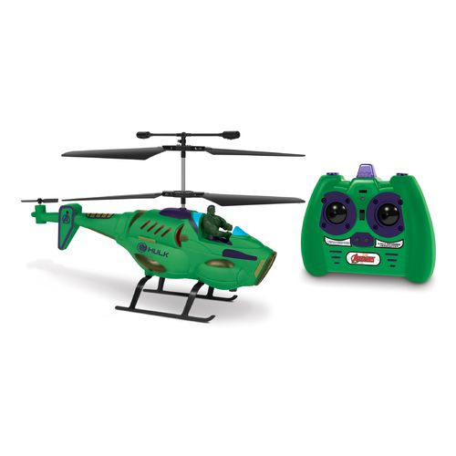 World Tech Toys Marvel Hulk RC Helicopter with Figure