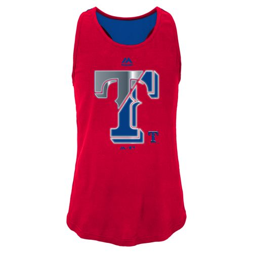 MLB Girls' Texas Rangers Stadium Graphic Tank Top